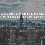Congresso della World Association for Cultural Psychiatry (WACP), New York (11-13 ottobre 2018)